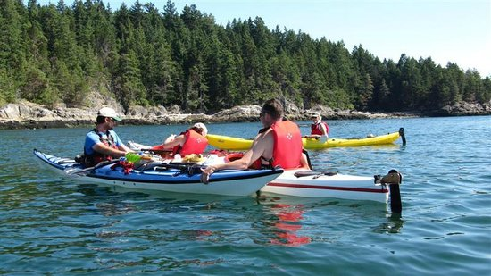Sunshine Kayaking : Kayaking Keats Island