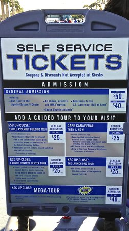 NASA Kennedy Space Center Visitor Complex : Kennedy Space Center Tours and Prices