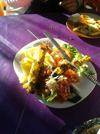 Ourika Valley: LOVELY FOOD!