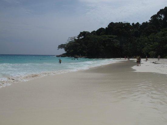 Phuket Tours Direct - Day Tours: Tachai Island Blue water White Sand beach