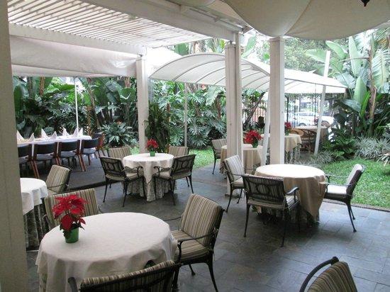 Hotel Poblado Plaza : Dining area, breakfast served here.