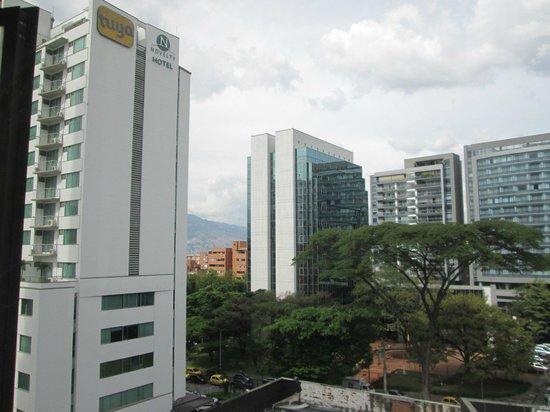 Hotel Poblado Plaza : View from room 517 Poblado Plaza
