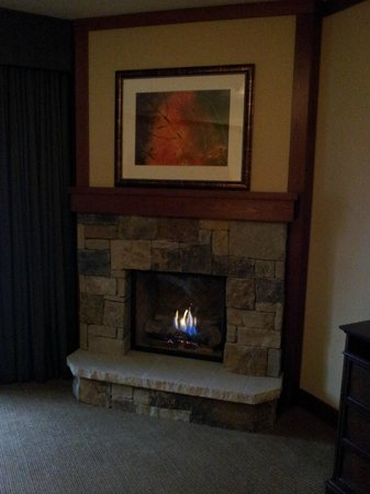 Four Seasons Resort and Residences Vail: Fireplace