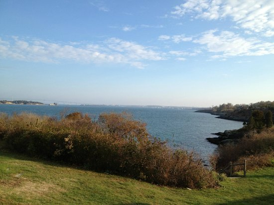 Castle Hill Inn: Our view