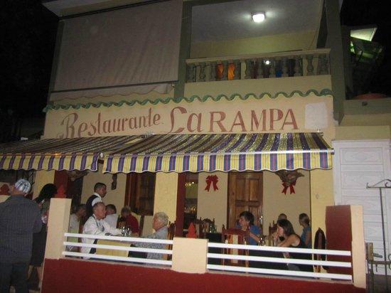 La Rampa: locale