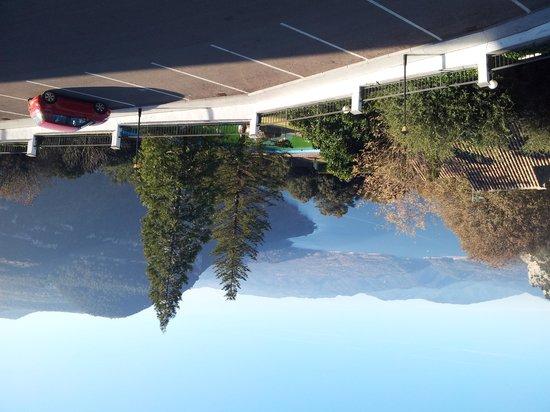 Parador de Vic-Sau: The view from our room