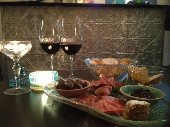 Marquise Bar Windsor: Charcuterie plate
