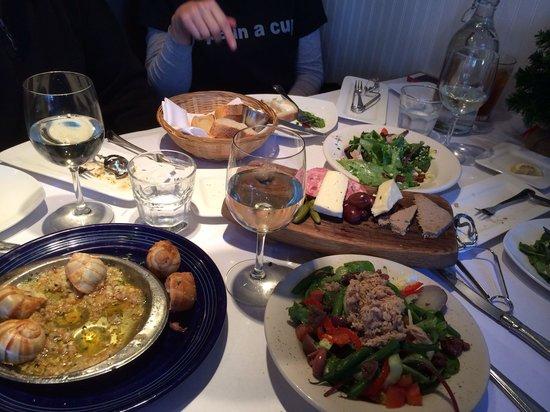 Restaurant Charcuterie: Food