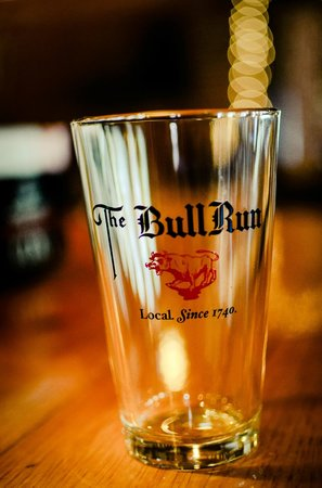 The Bull Run Restaurant: Pint glasses from our Gift Shop
