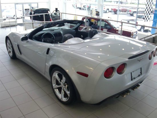 Comfort Suites Kelowna : Why I was in Kelowna. I bought this Corvette from Don Folk Chevrolet just a few blocks down the