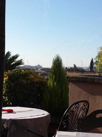 Hotel Scalinata di Spagna : vista da terrazzo