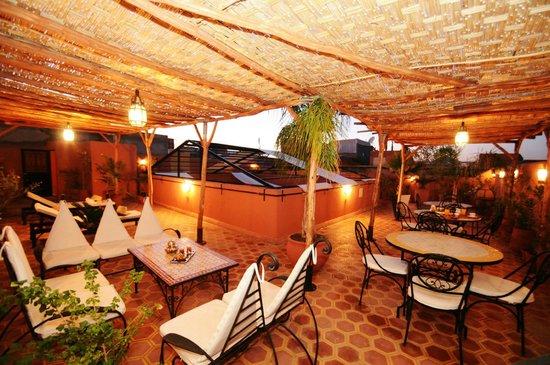 Riad Hadda : Terrasse