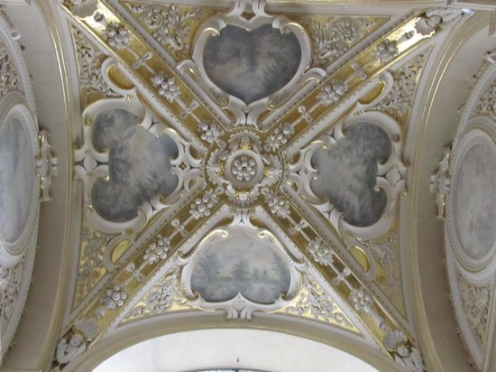 Church of St. Peter and St. Paul : ceiling