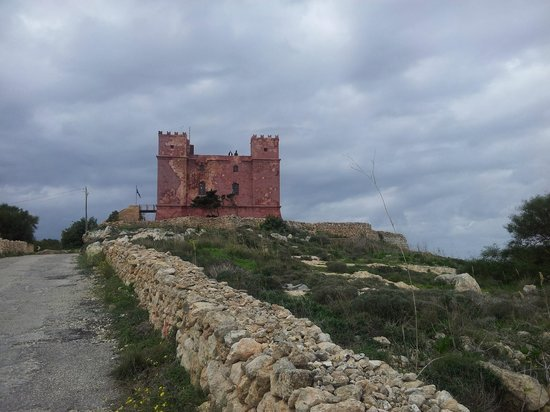 St Agatha's Tower: Der Red Tower