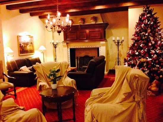 NH Brugge: Lounge, lovely and festive :)