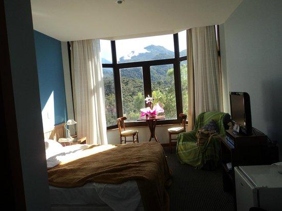 Hotel Sao Gotardo: janela deslumbrnte
