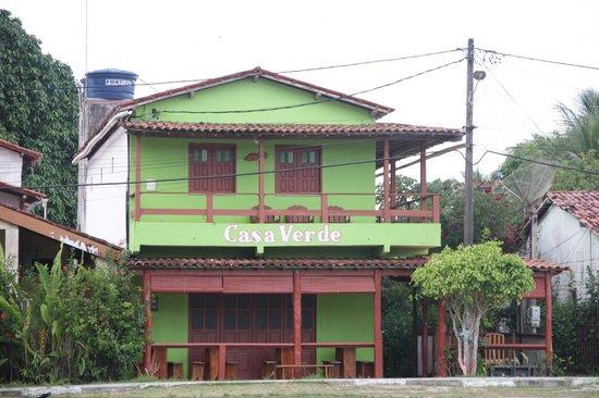 Pousada Casa Verde : Faixada