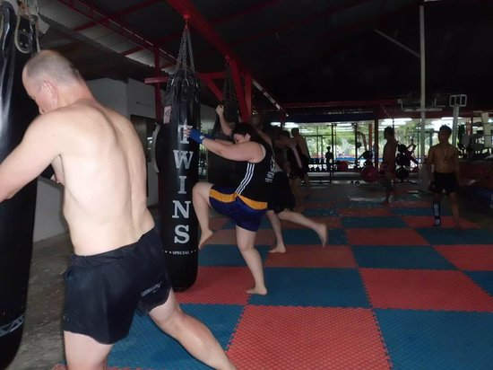 Koh Phangan Muay Thai and Fitness Gym: Training