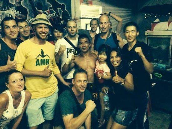 Phangan Muay Thai and Fitness Gym : Fight night - 3 winners!
