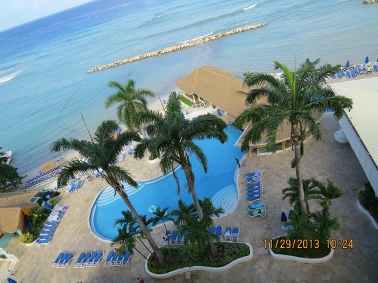 Sunscape Splash Montego Bay : view from our room