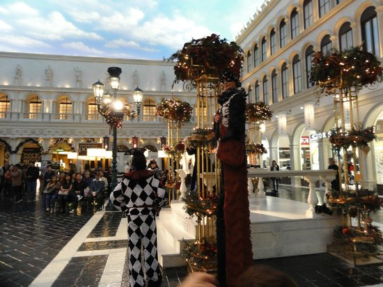 Shows At The Canal Picture Of The Venetian Resort Las Vegas Tripadvisor