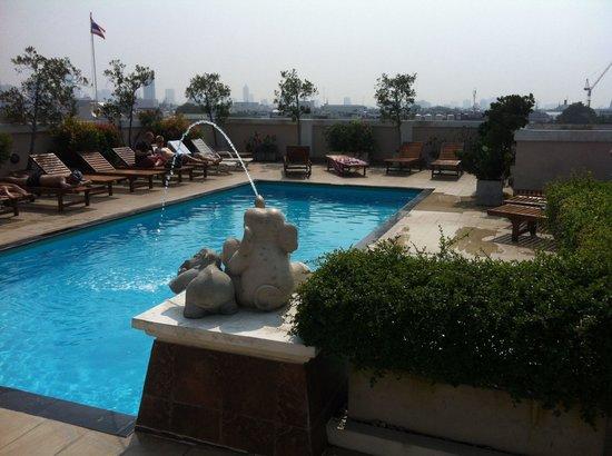 Rikka inn roof top pool