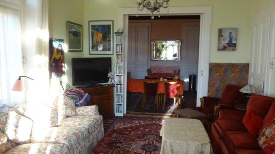 Les Airelles : Sala de estar