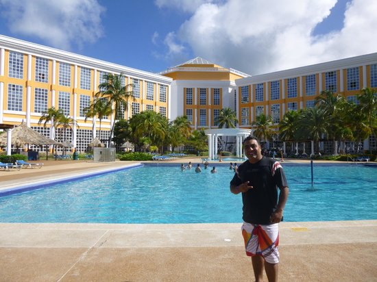 Hesperia Isla Margarita: área de piscina