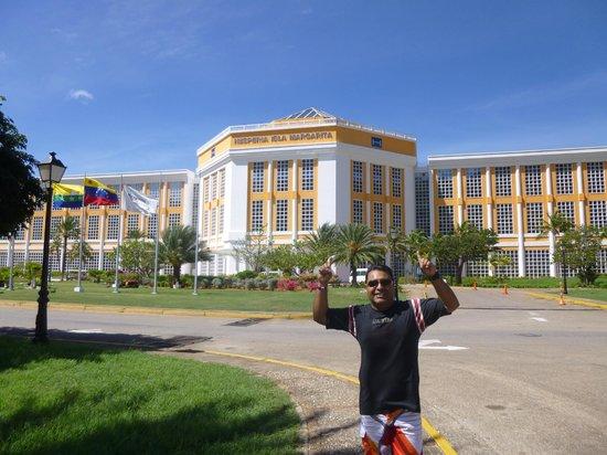 Hesperia Isla Margarita: entrada del hotel