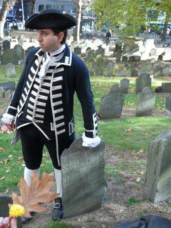 Lessons on Liberty: Bob - historian, printer, storyteller.