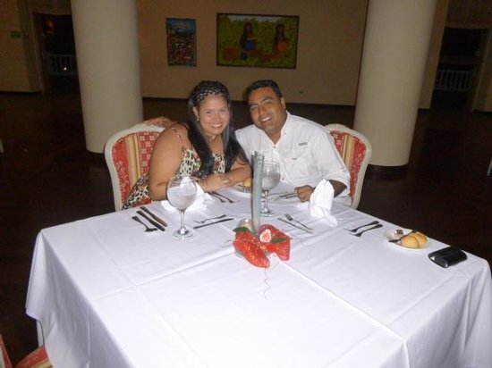 Hesperia Isla Margarita: cena en valdelvira