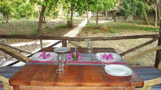Galu Getaway : dining experience