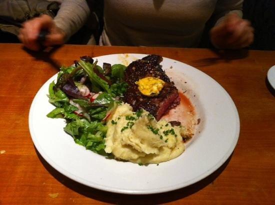 The Majestic Cafe: steak Virginia
