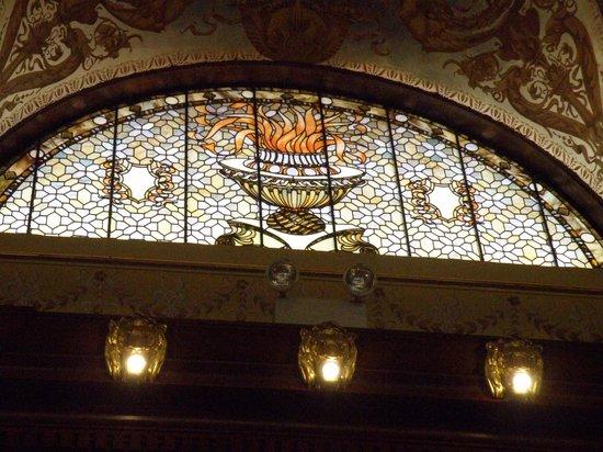 Flagler College: Tiffany glass window