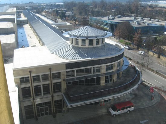 Chattanooga Marriott Downtown: Convention center view