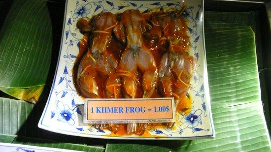 Cambodian Soup Restaurant: Delicious Frog Leggs $1 each !!!