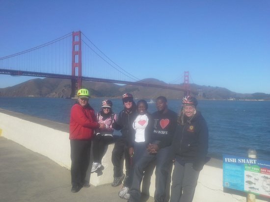 Bay City Bike Rentals and Tours: The group