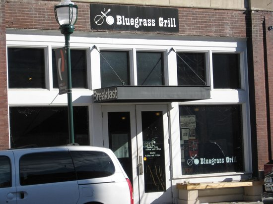 Bluegrass Grill: From acroos the street