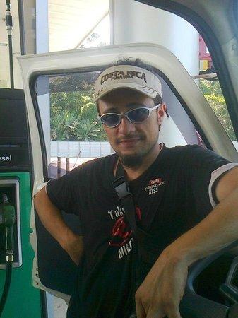 Cabinas Sax's Caribe : gerente