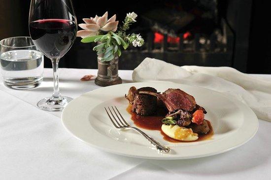 Margan Restaurant: Milly Hill lamb, autumn vegetables and earl grey tea