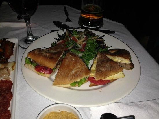 El Albergue Ollantaytambo: Sandwich