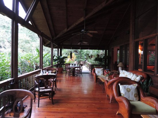 The Lodge and Spa at Pico Bonito : Restaurant