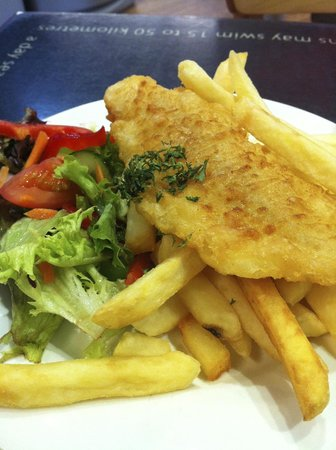 Fish and chips picture of phillip island nature parks for Wave fish and chips