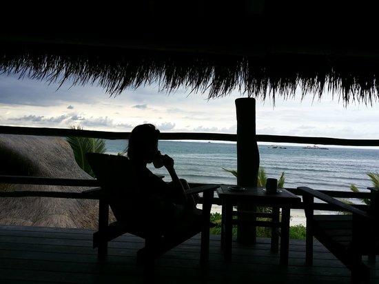 Nikoi Island : wonderful view at teatime