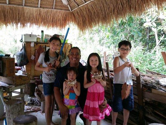 Nikoi Island : kids favourite place