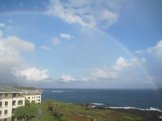 The Point at Poipu: At the end of the rainbow