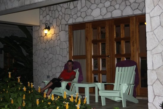 The SPA Retreat Boutique Hotel: Our terrace