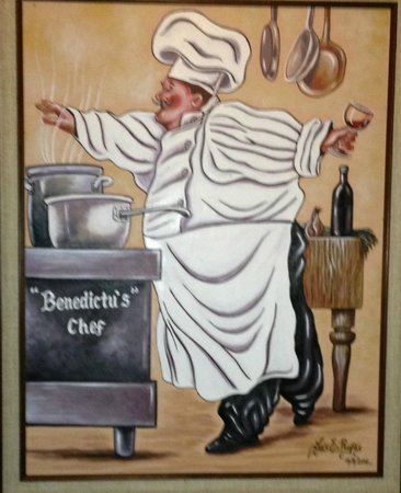 Benedictus Steak House: This image gives you a sense of the uniqueness.