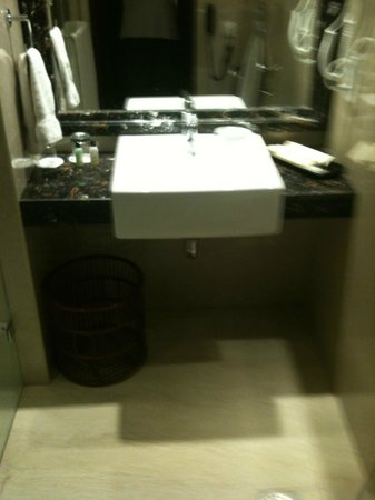 Savera Hotel: Good facilities in the bathroom
