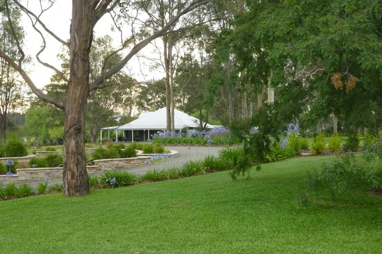 Spicers Vineyards Estate: A short walk from the main resort rooms to the Restaurant Botanica.